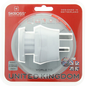 SKROSS Combo Outlet Adapter World to UK